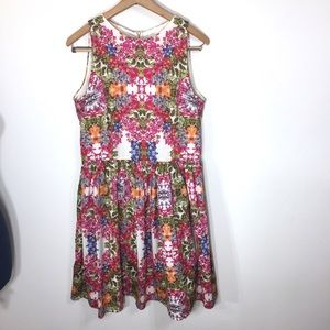 Maggy London Pink Floral Dress